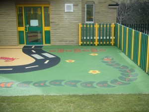 Flooring for Kids - Rubber flooring