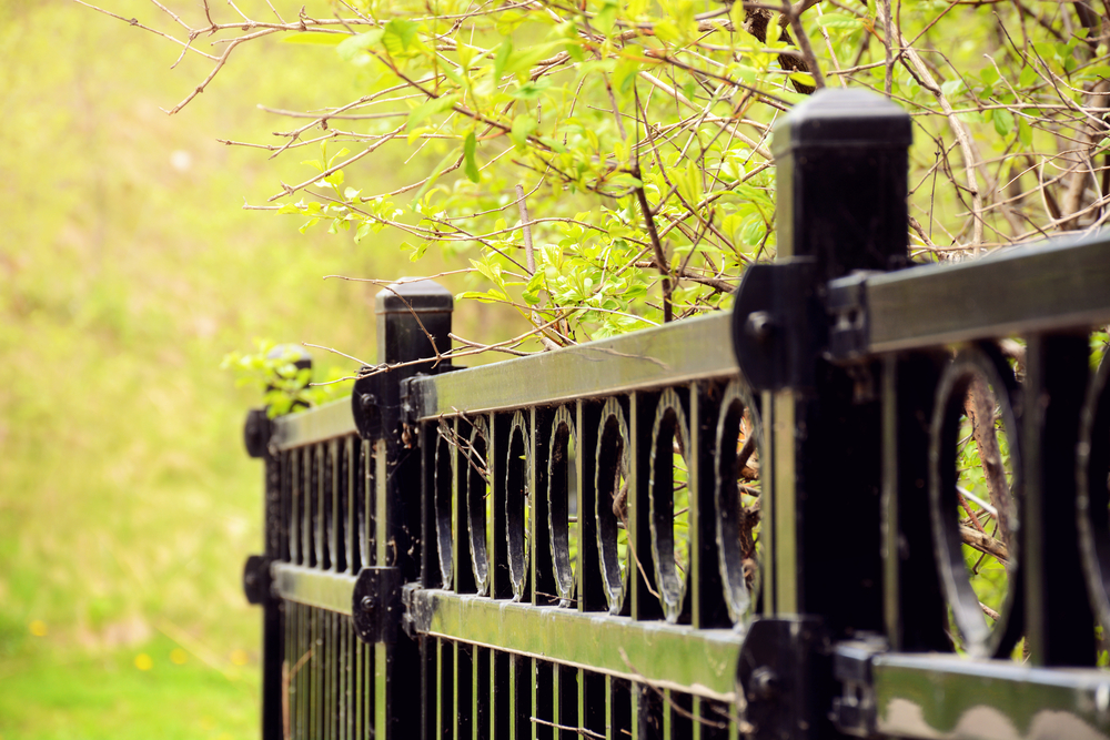 The Pros and Cons of Fence Materials Aluminum Fence Lighting Ideas on screen enclosures lighting ideas, pvc lighting ideas, aluminum fence design, home lighting ideas, deck lighting ideas, aluminum fence accessories,