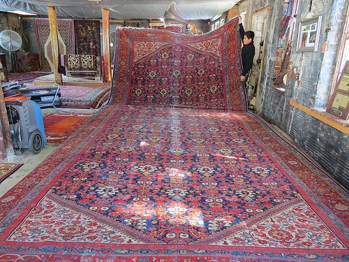 a brief history of persian rugs