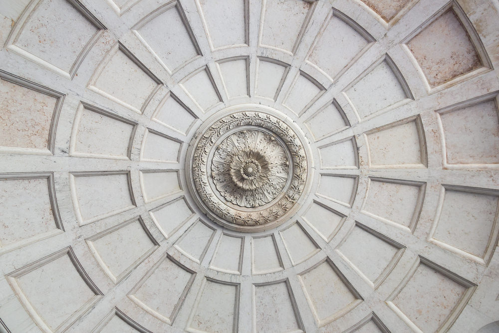 large ceiling medallion