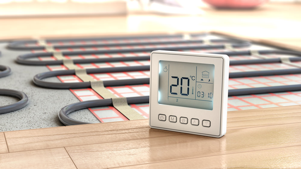 Electric Radiant Heat For Hardwood Floors Wood Floors And Electric