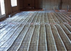 hydronic radiant heating system