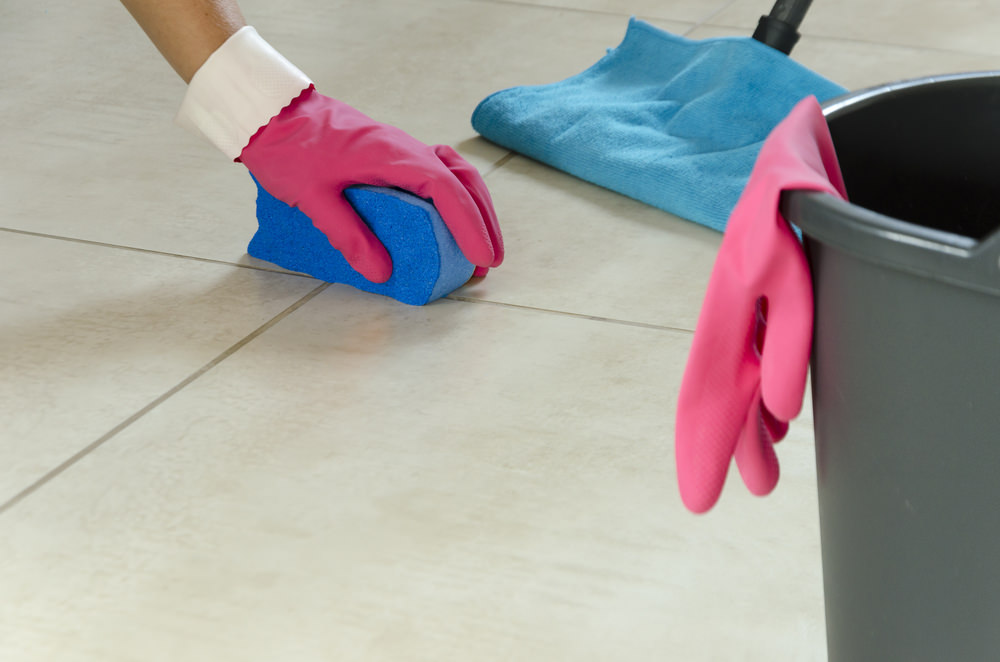 Cleaning Grout Flooring