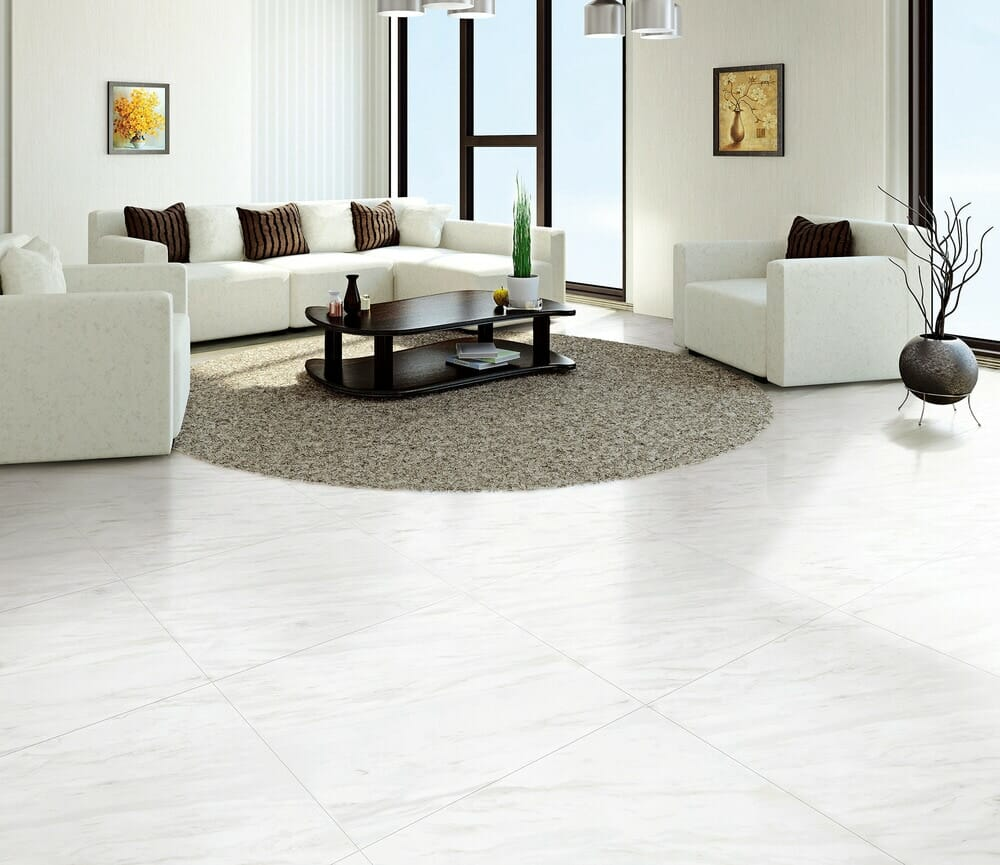 Salerno Porcelain Tile - Carrara Venato Series SKU: 10096651