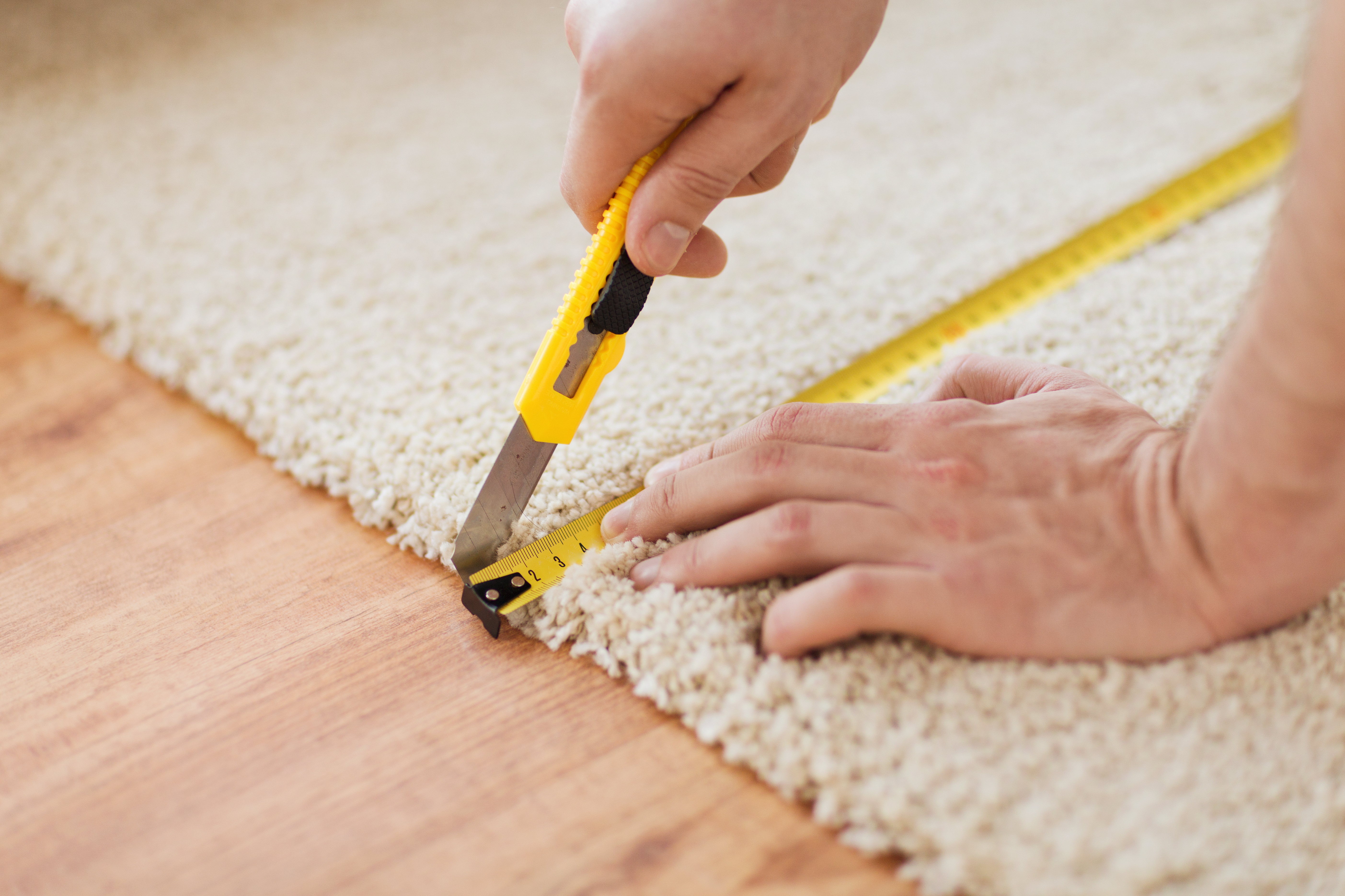 How To Lay Carpet On Stairs And Landing