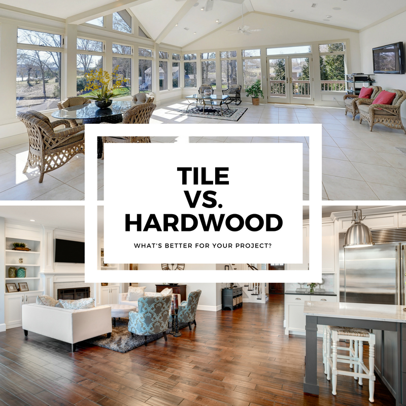 tile vs. hardwood