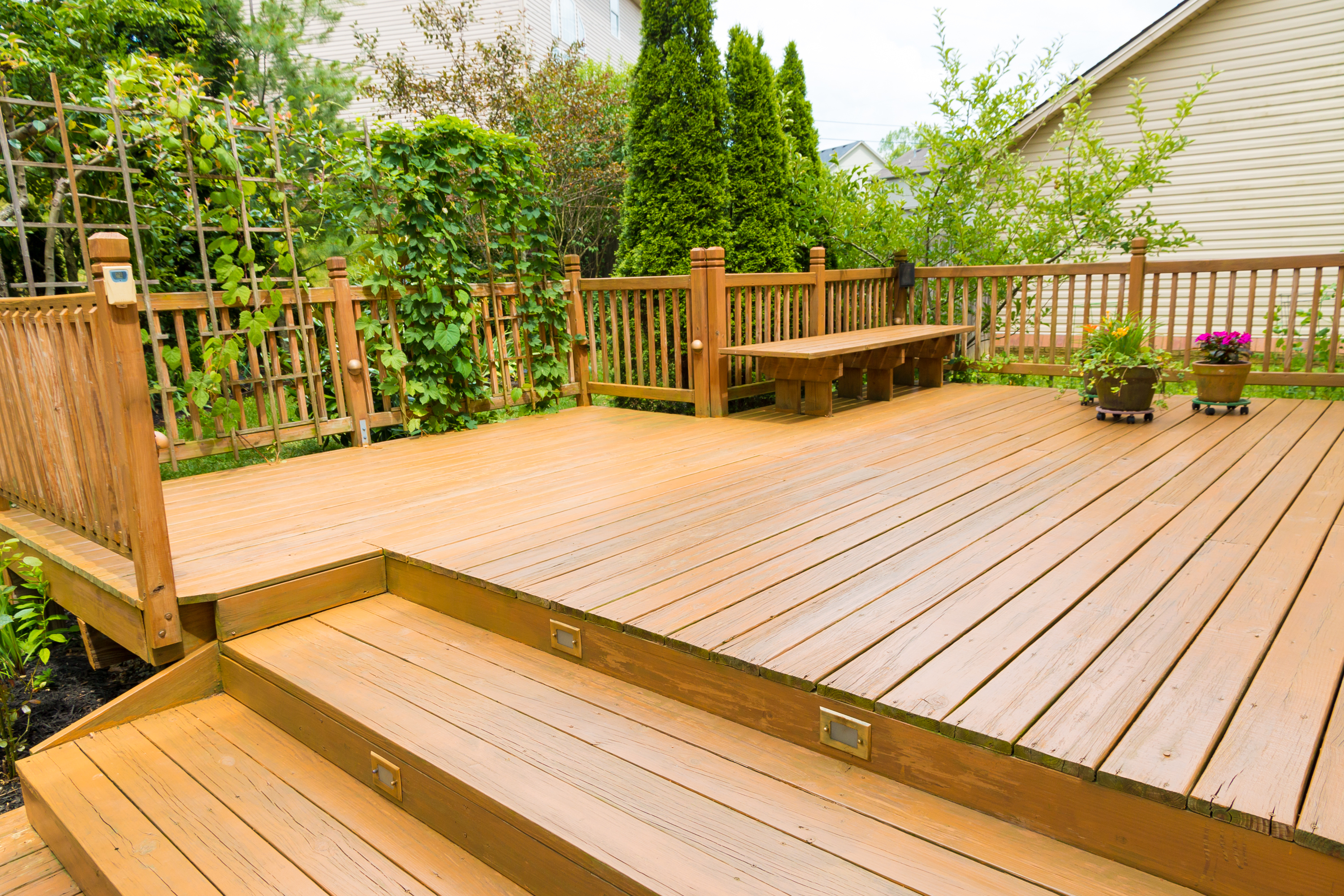 Building A Deck On Slope Can Be Tricky But You Easily Do It When Know What Steps To Follow The Disadvantages