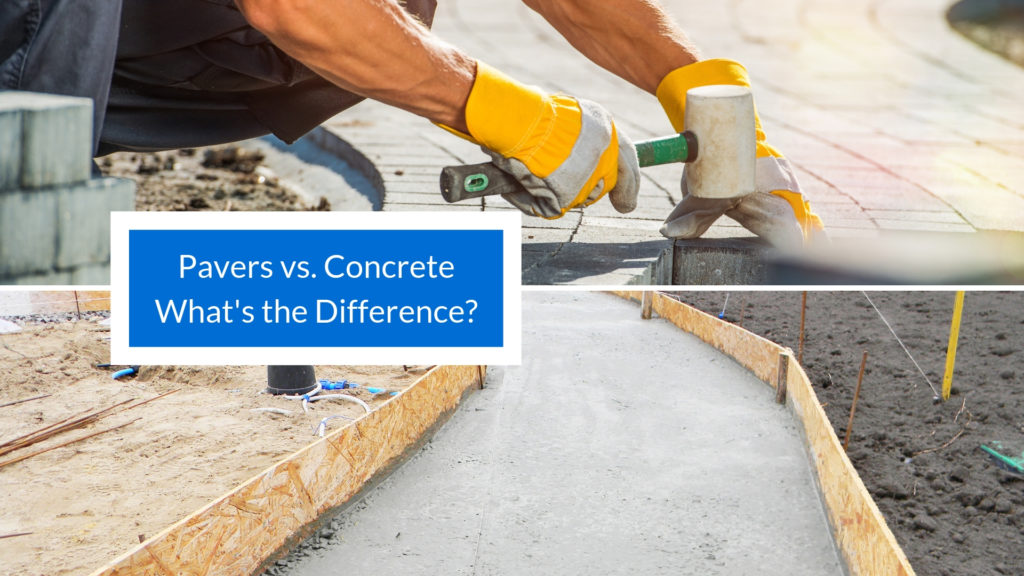 Pavers Vs Concrete What S The Difference Learning Center