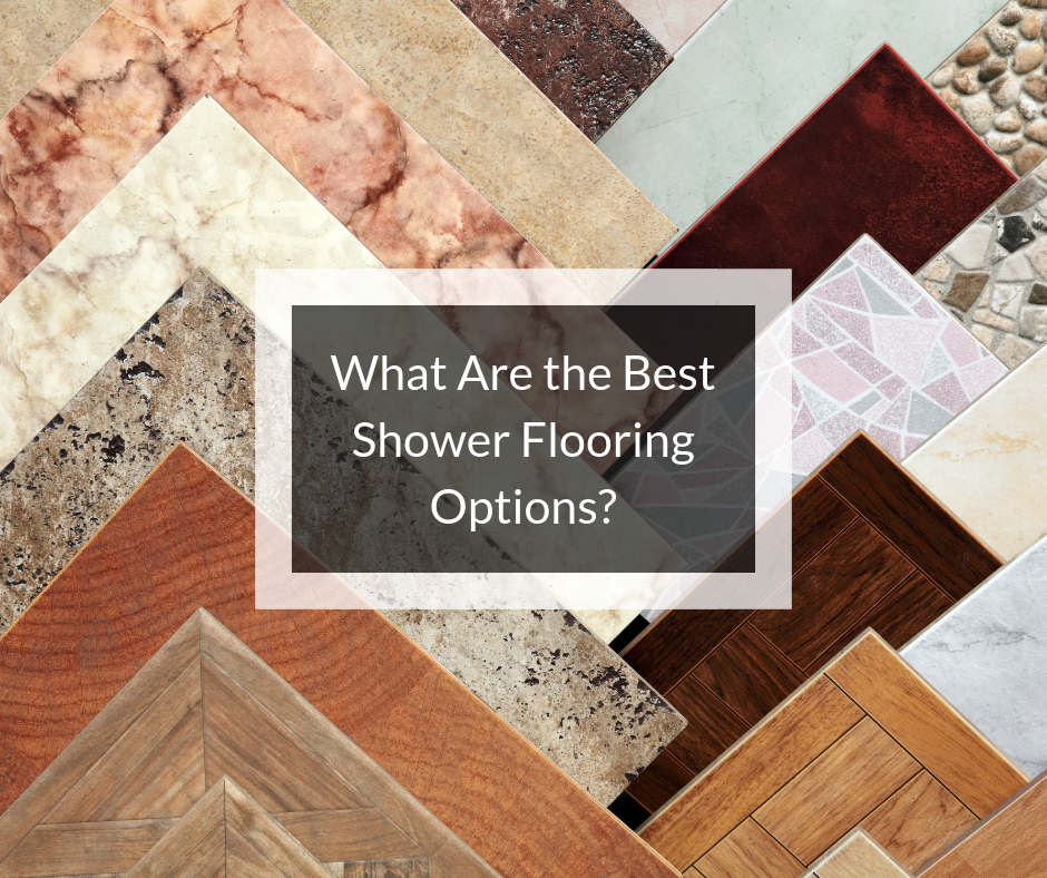 Shower Flooring Options Learning Center