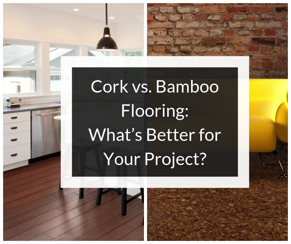 Cork And Bamboo Are Both Intriguing Flooring Options That Offer An Alternative To Traditional Hardwood If You Re Considering New For Your Home