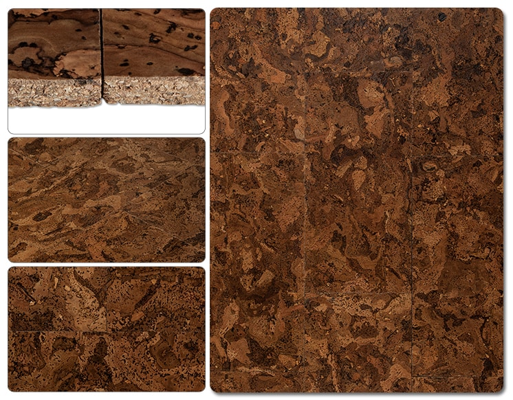 Evora Pallets Cork - Porto Tile Collection - Glue Down Floor / SKU: 10084478