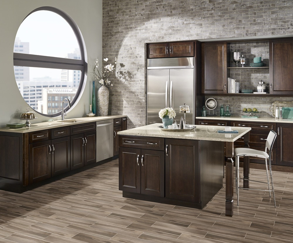 Ceramic Kitchen Tile Flooring The Pros And Cons Builddirect Learning Centerlearning Center