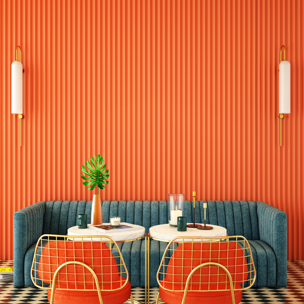 match flooring with wall colors