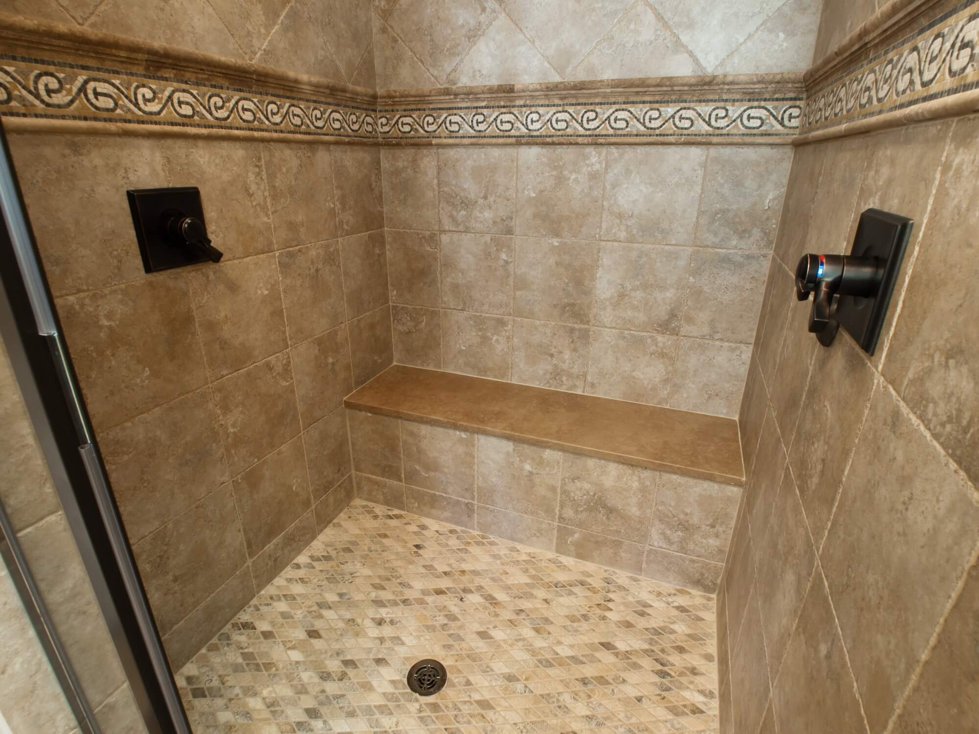 Travertine Showers Pictures
