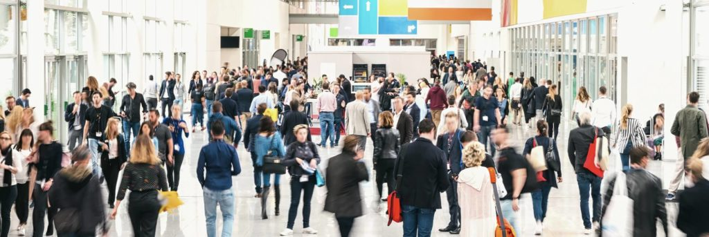 property investor trade shows crowd