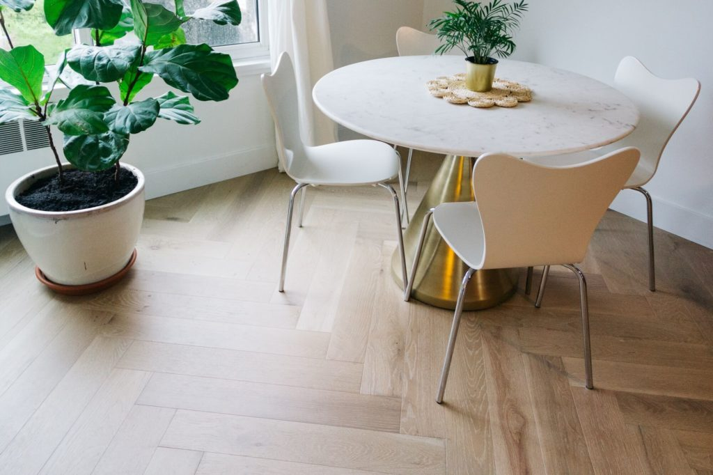 oak flooring care