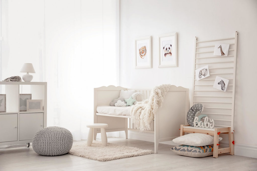 staging a kids room