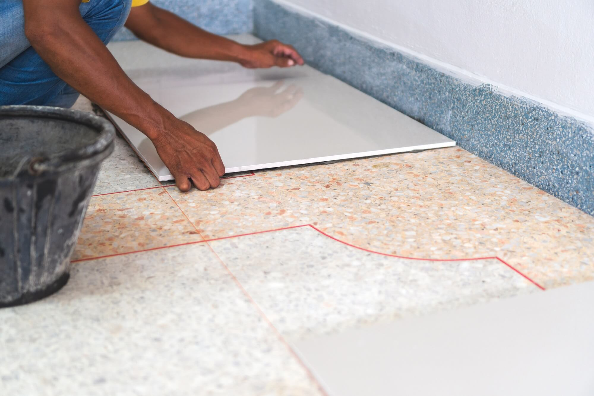 Laying Tile Over Vinyl Should You Do, Can You Put Vinyl Flooring Over Cement Board