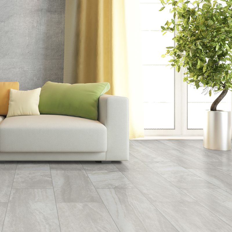 Cabot Porcelain Tile Pavers - Seaside Marble Series in Grigio