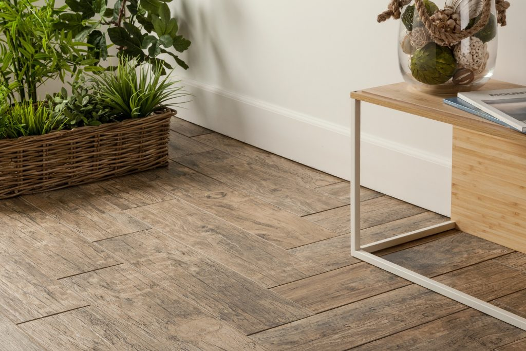 Cabot Porcelain Tile - Redwood Series in Natural