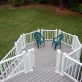A railing is an important part of your deck.