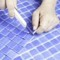 Check out these tips for installing mosaic tiles.