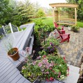 Composite decking comes in many styles that can add personality to any backyard.