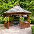 Gazebos provide shade, shelter and scenery to any backyard.
