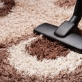 Vacuuming is an essential element to proper carpet tile maintenance.